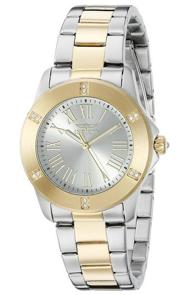 Invicta Women's 19256SYB Angel Analog Display Quartz Two Tone Watch