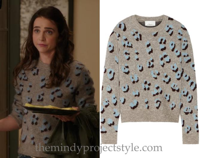 3.1 Phillip Lim Long-Sleeve Animal-Print Pullover Top @ Neiman Marcus