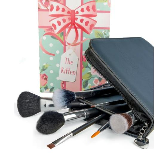 Lightning Deal Professional Makeup Brushes By Bella and Bear