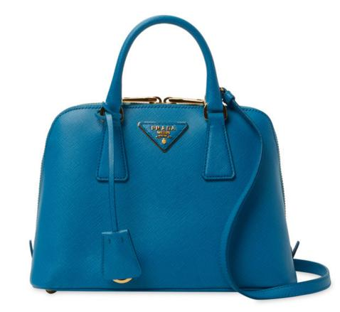 Prada Lux Small Saffiano Leather Satchel On Sale @ Gilt