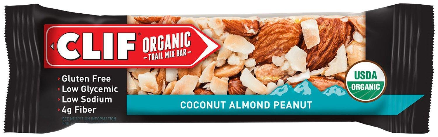 CLIF Organic Trail Mix Bar, Coconut Almond Peanut, (1.4 ounce, 12 Count)