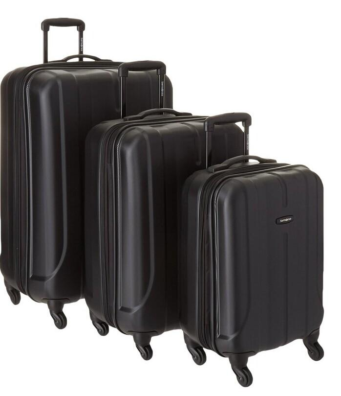 $237.88 Samsonite Luggage Fiero HS 3 Piece Nested Set