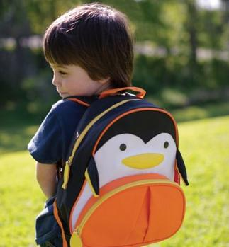 $15 Skip Hop Zoo Pack Little Kid Backpack, Penguin