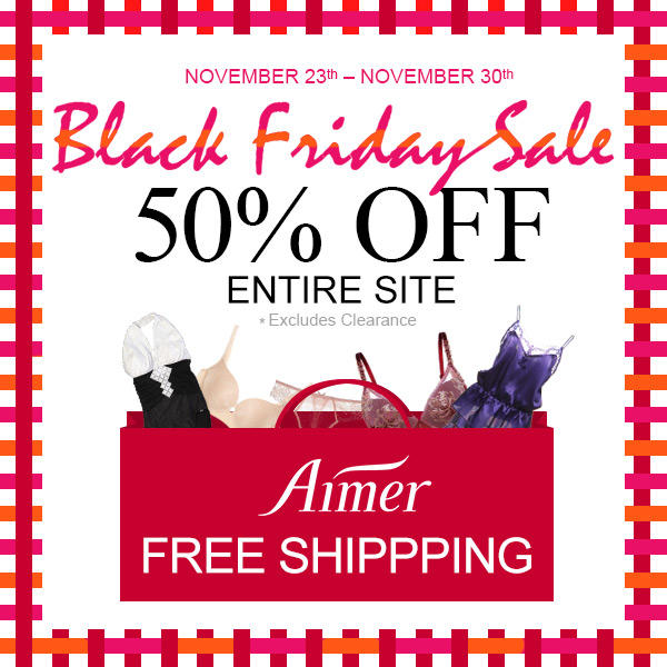 Dealmoon Exclusion! 50% Off Sitewide Blackfriday Sale @ aimeronline.com
