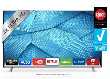 VIZIO M70-C3 70-Inch 4K Ultra HD Smart LED TV (2015 Model)