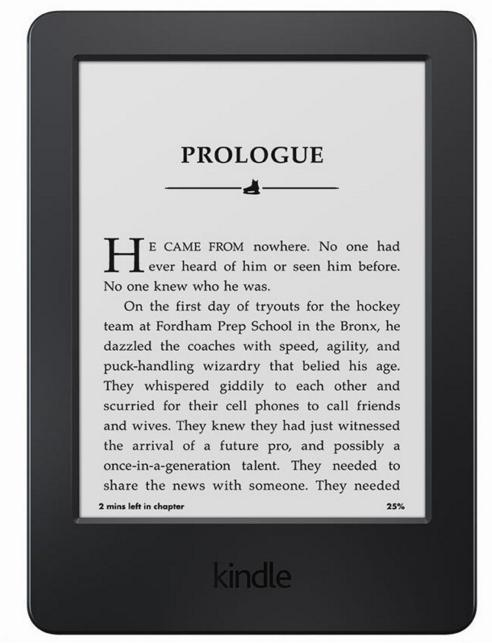 """$49.99 Kindle, 6"""" Glare-Free Touchscreen Display, Wi-Fi - Includes Special Offers"""