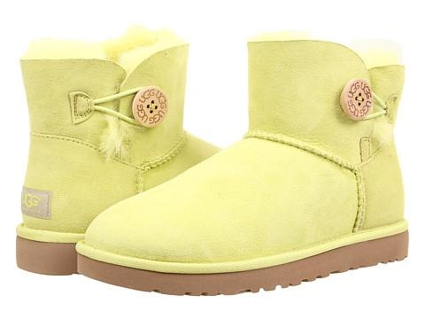 UGG Mini Bailey Button Boot (Lichen)