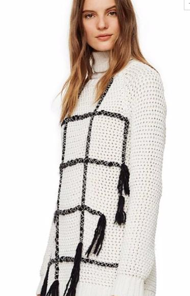 Tory Burch Embroidered Knnit Pullover