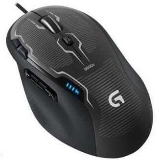 $29.99 Logitech G500s Laser Gaming Mouse Black