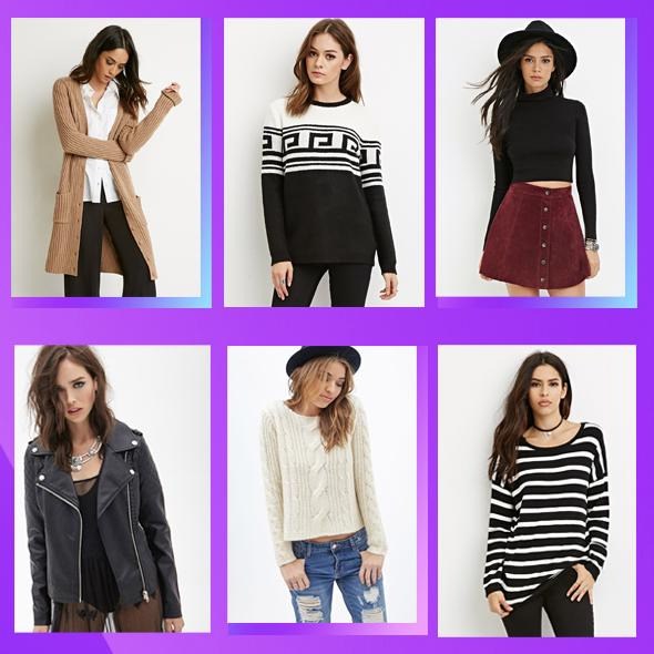 Under $15 + Extra 10% Off Outwear & Sweater Sale @ Forever21.com