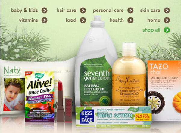 20% Off Everything in Green & Natural Dept @ Drugstore