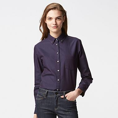 Men's and Women's Button Up Shirt at Uniqlo