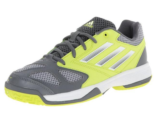 adidas Performance Feather Team 3 XJ Tennis Shoe (Big Kid)