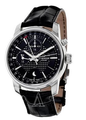 Eterna 8340-41-41-1186 Men's Soleure Moonphase Chronograph Watch