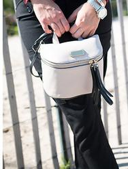 $136.8 MARC BY MARC JACOBS 'Canteen' Leather Crossbody Bag(5 colors)