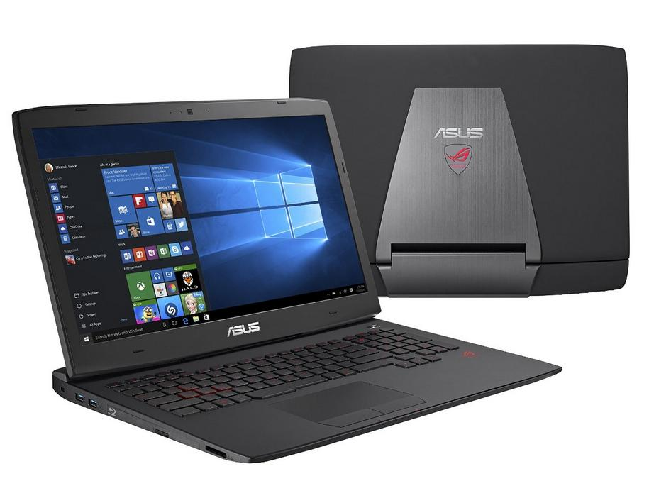 ASUS ROG G751JL-WH71(WX) 17-Inch Gaming Laptop,i7, 965M,16GB DDR3, 1TB (ROG Black, Win 10)