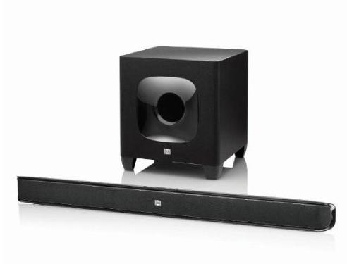 JBL Cinema SB400 Soundbar Speaker System - Black