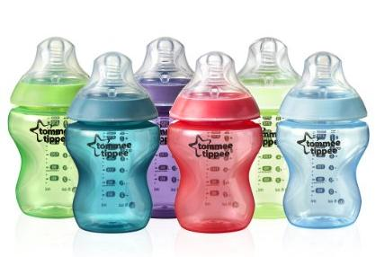 $18.5 Tommee Tippee Closer to Nature Fiesta Bottle, 9 Ounce, 6 Count