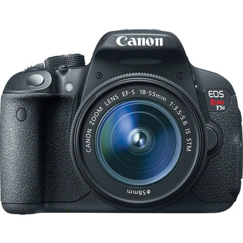 Canon EOS Rebel T5i DSLR Camera with 18-55mm Lens & PIXMA