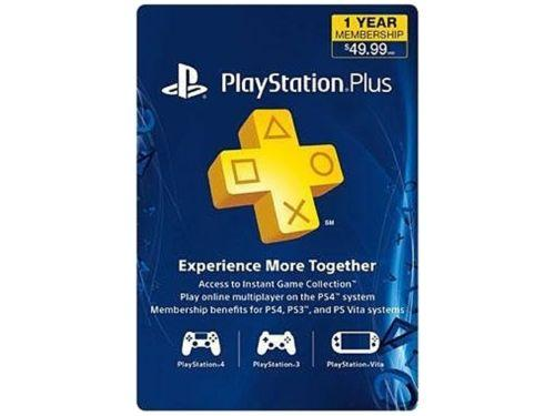 PlayStation Plus Membership - 1 Year