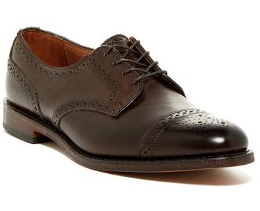 Allen Edmonds 6th Ave Cap Toe Derby Men's Shoes On Sale @ Nordstrom Rack