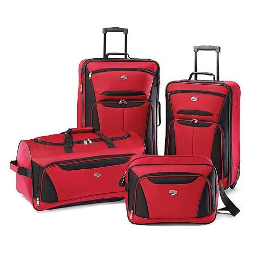 Extra 15% Off Rockland/ American Tourister & more brands' Luggage Set@kohl's