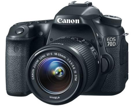 Refurb Canon EOS 70D Digital SLR Camera w/18-55mm Lens