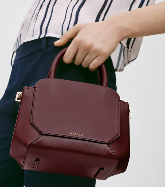 Auxiliary Mini Bega Satchel Bag @ Aritzia