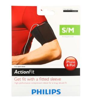 Philips Action Fit Sport Sleeve for Mobile Phones and MP3