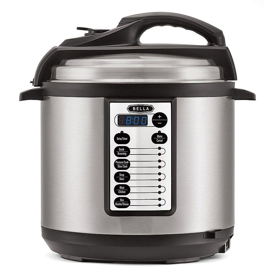 $47.99 After $20 Mail-in Rebate Bella 6-qt. Pressure Cooker @ Kohl's