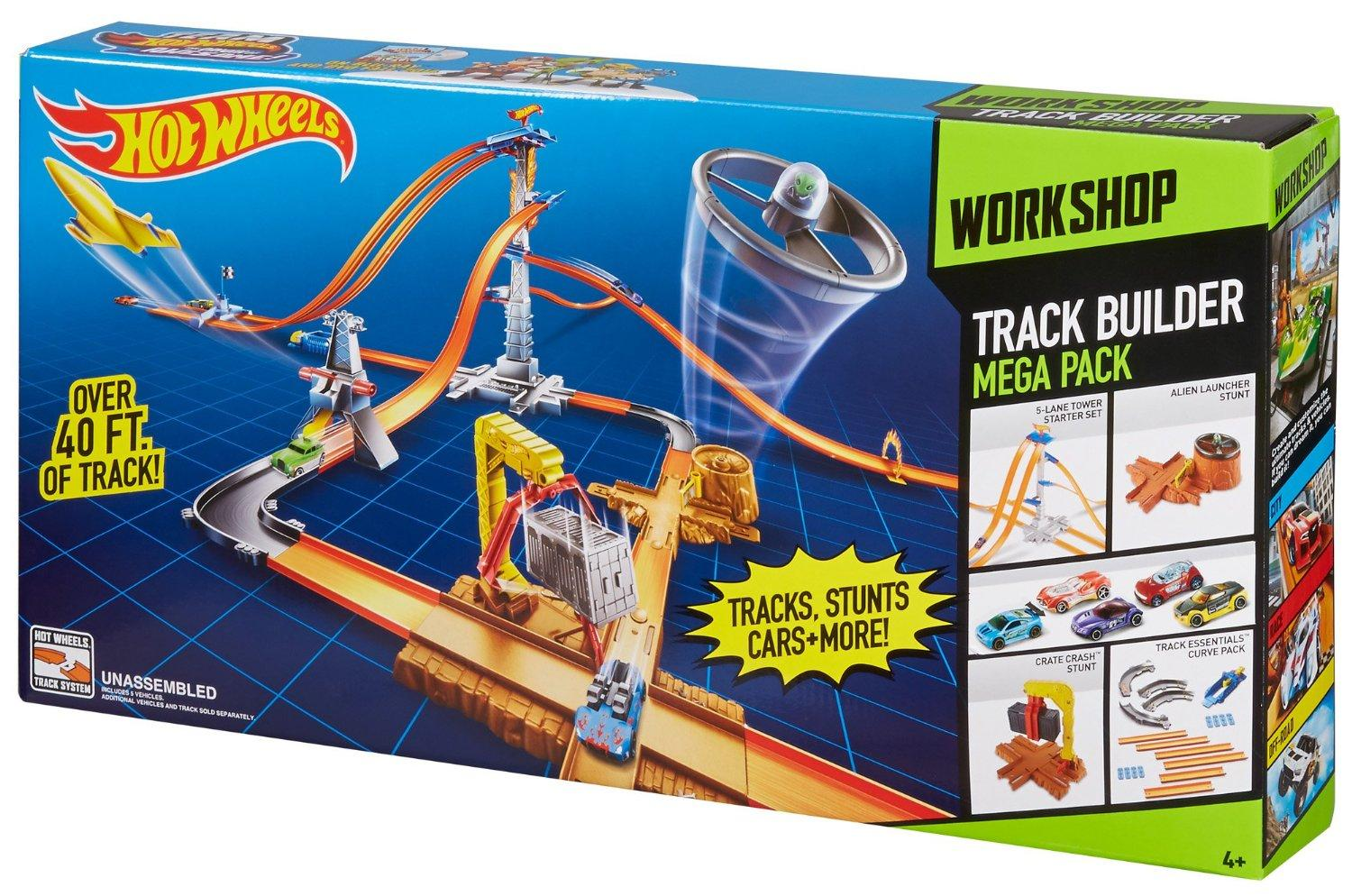 Hot Wheels Track Builder System Playset