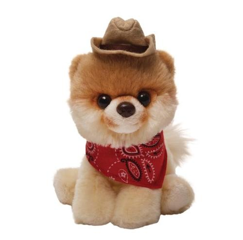 Gund Boo Plush in a Cowboy Hat