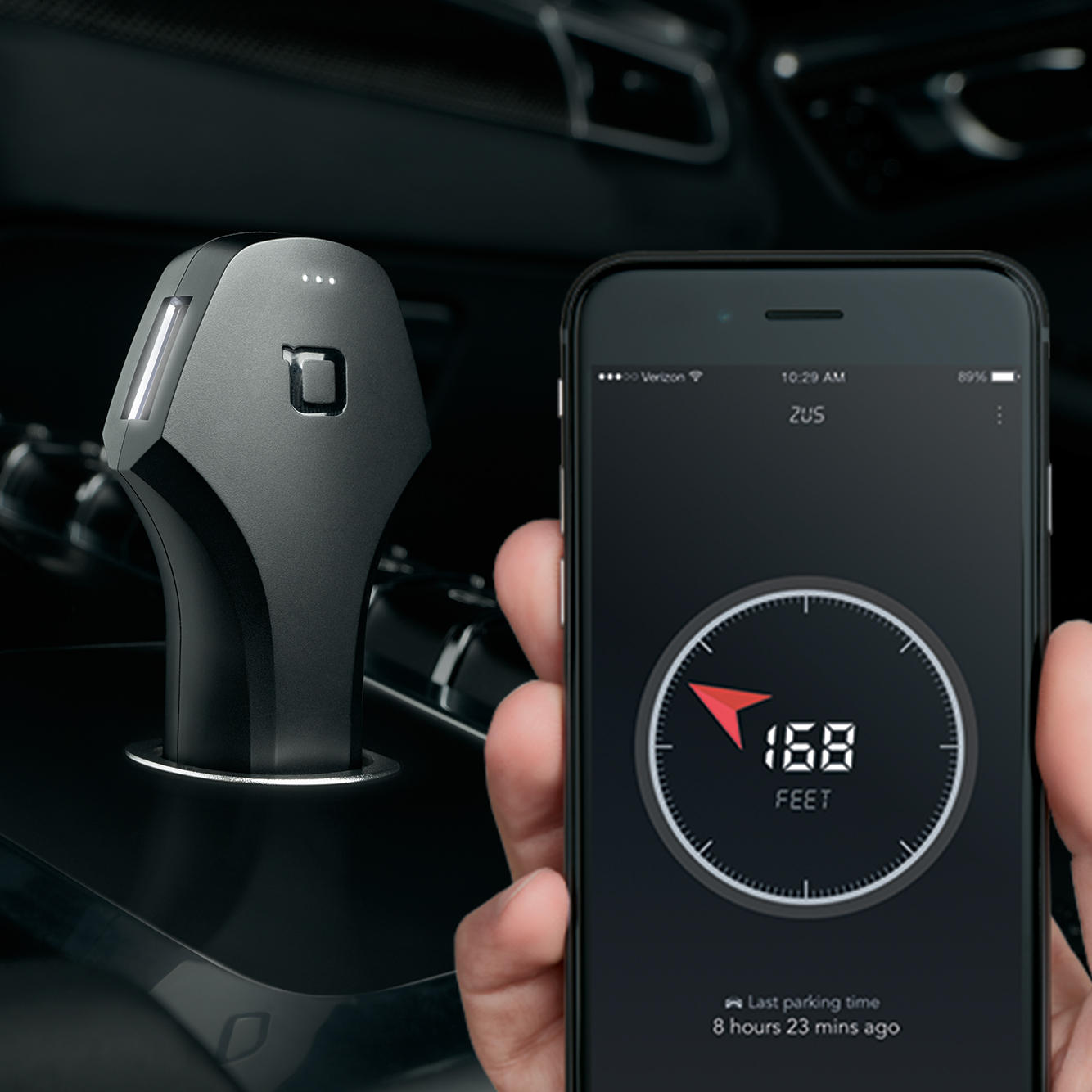 Last Day 40% OFF Sale! US Military Grade, Smart USB Car Charger& Car Locator- ZUS