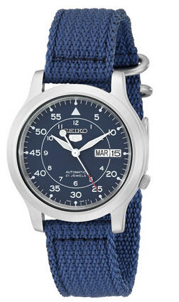 Seiko Men's SNK807 Seiko 5 Automatic Stainless Steel Watch