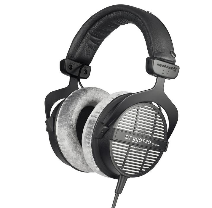 Beyerdynamic DT990 Pro 250Ohm Professional Acoustically Open Headphones for Monitoring and Studio Applicatio