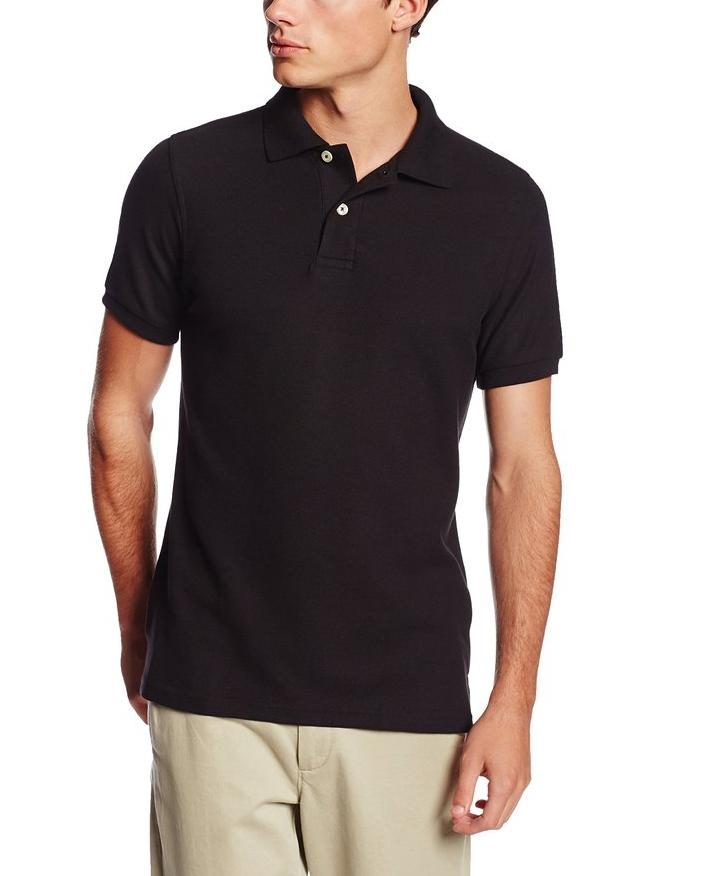 Lee Uniforms Men's Short-Sleeve Polo Shirt