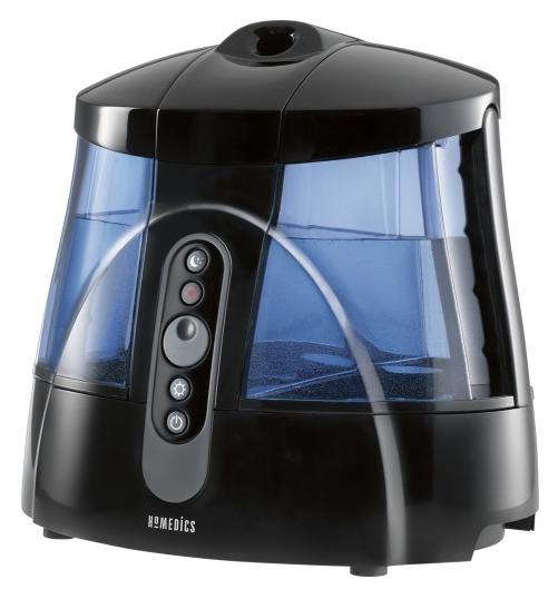 HoMedics Warm and Cool Mist Ultrasonic Humidifier UHE-WM70