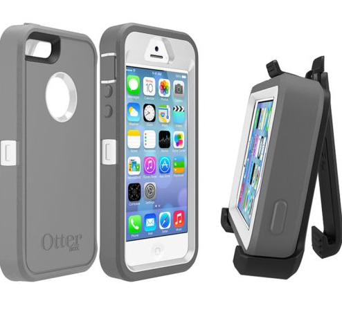 $14.95 OtterBox iPhone 5/5S Defender Series Case & Belt Clip Holster Clip