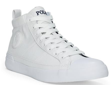 CLARKE HIGH-TOP SNEAKER @ Ralph Lauren