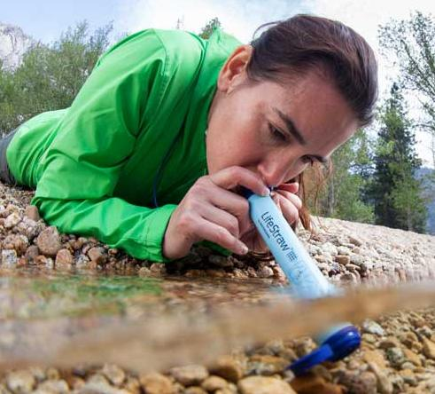 2-Count LifeStraw Personal Water Filter