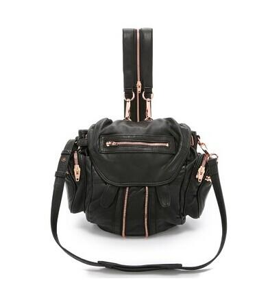 Alexander Wang Mini Marti Backpack with Rose Gold Hardware @ shopbop.com
