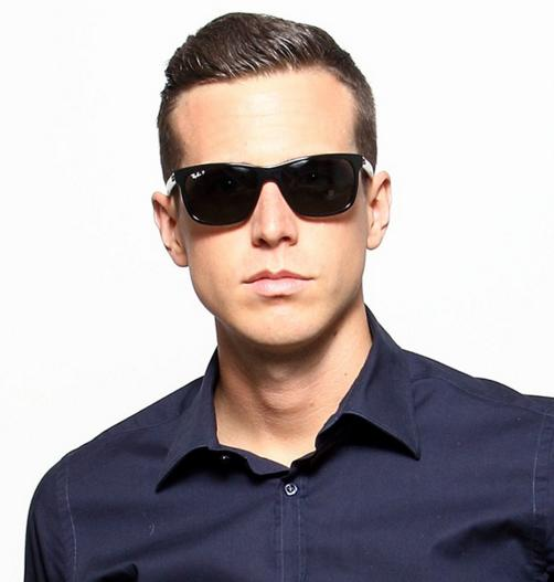 Ray-Ban Men's ORB4184 61014M54 Square Sunglasses