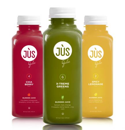 $120 3 Day Jus Cleanse at Jus by Julie