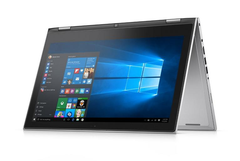 $649.99 Dell Inspiron i7359-6790SLV 13.3 Inch 2-in-1 Touchscreen Laptop (6th Generation Intel Core i5, 8 GB RAM, 256 GB SSD)