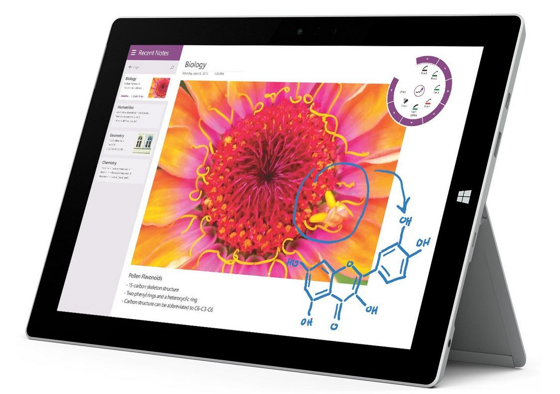 Microsoft Surface 3 Tablet (10.8-Inch, 128 GB, Intel Atom, Windows 10)