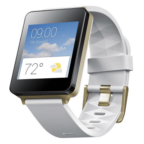 $79.99 LG  G Watch (White Gold) + $25 B&H Gift Card