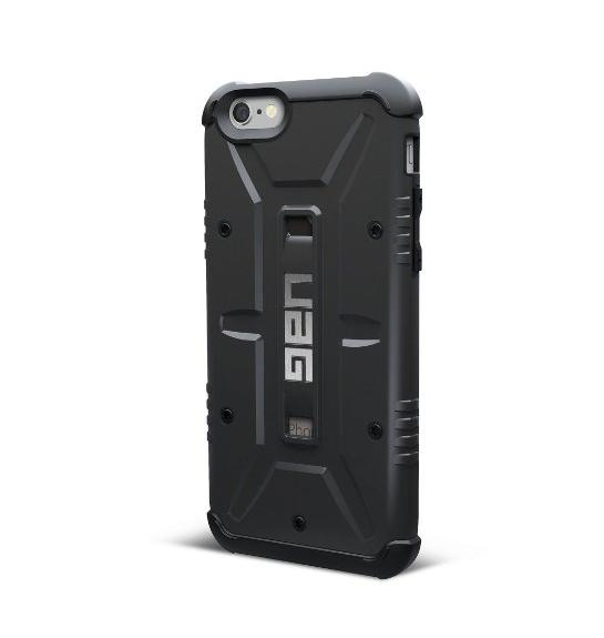 URBAN ARMOR GEAR Case for iPhone 6/6s, Retail Packaging, Black