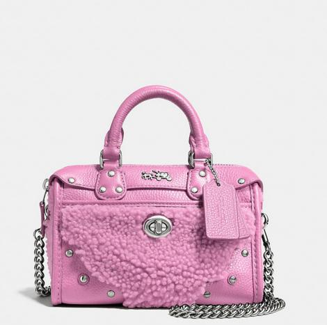 Up to 30% Off Coach Pink Handbags On Sale @ Coach