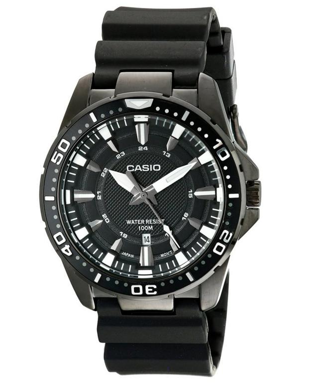 Casio Men's MTD-1072-1AVDF Analog Resin Band Watch