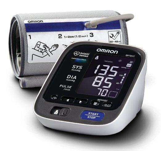 #1 Best seller! Omron 10 Plus Series Upper Arm Blood Pressure Monitor with ComFit Cuff